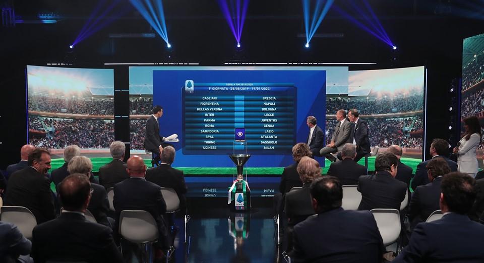 Calendario Napoli E Juve A Confronto.Svelato Il Calendario Della Serie A 2019 2020 Seconda