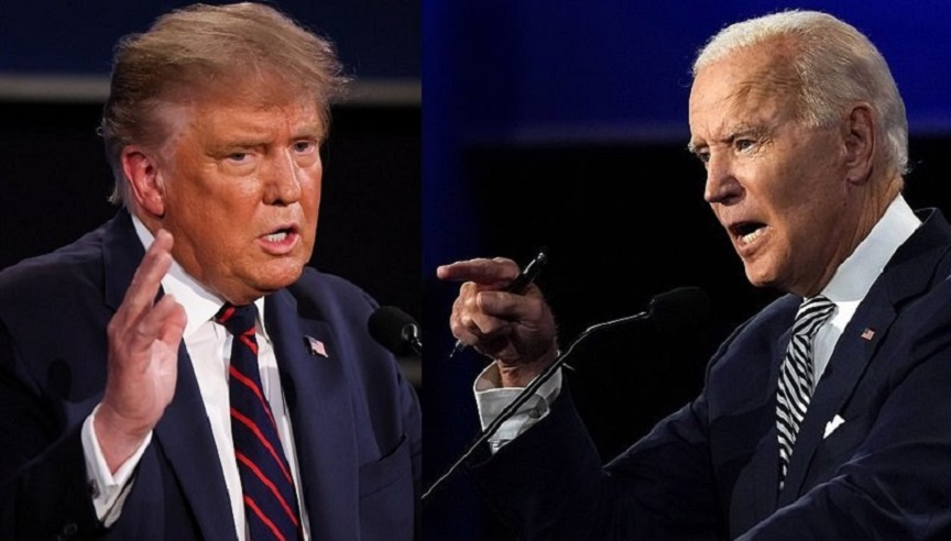 libertà vs. politically correct: trump vs. biden