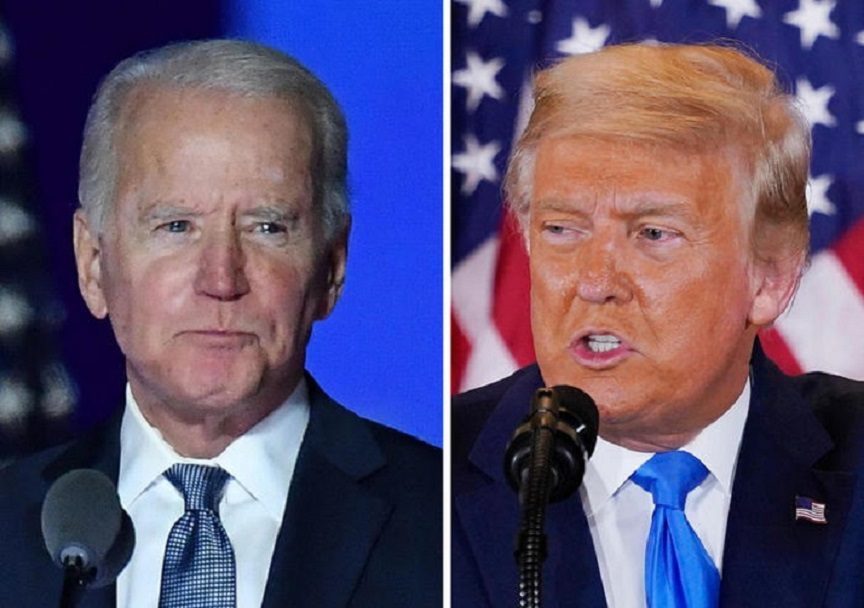 usa 2020: joe biden e donald trump