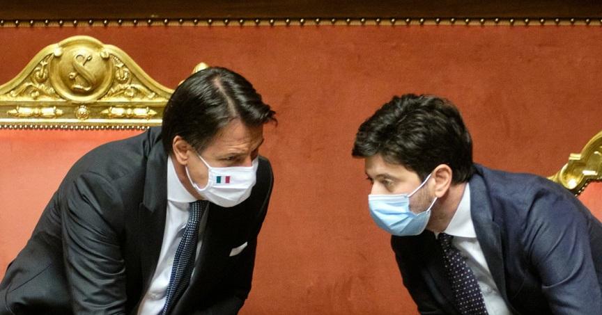 pandemia da covid-19: giuseppe conte e roberto speranza