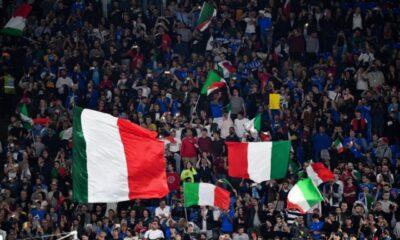 pubblico agli europei: tifosi allo stadio